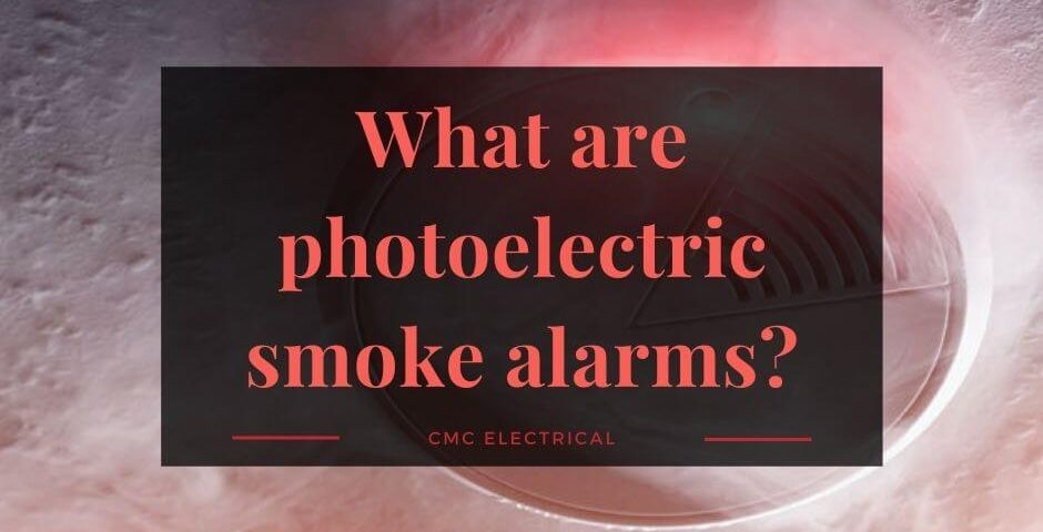 What are photoelectric smoke alarms